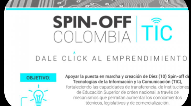 Convocatoria para  constitución de empresas tipo Spin-Off