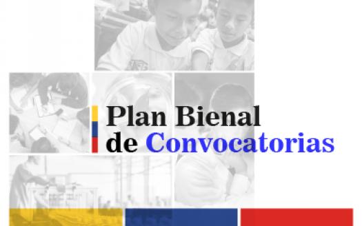 Plan Bienal Convocatorias FCTeI Colciencias