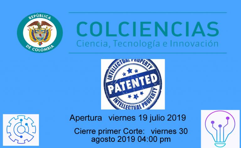 Convocatoria nacional para el apoyo a la presentación de patentes vía nacional y vía PCT y apoyo a la gestión de la propiedad intelectual